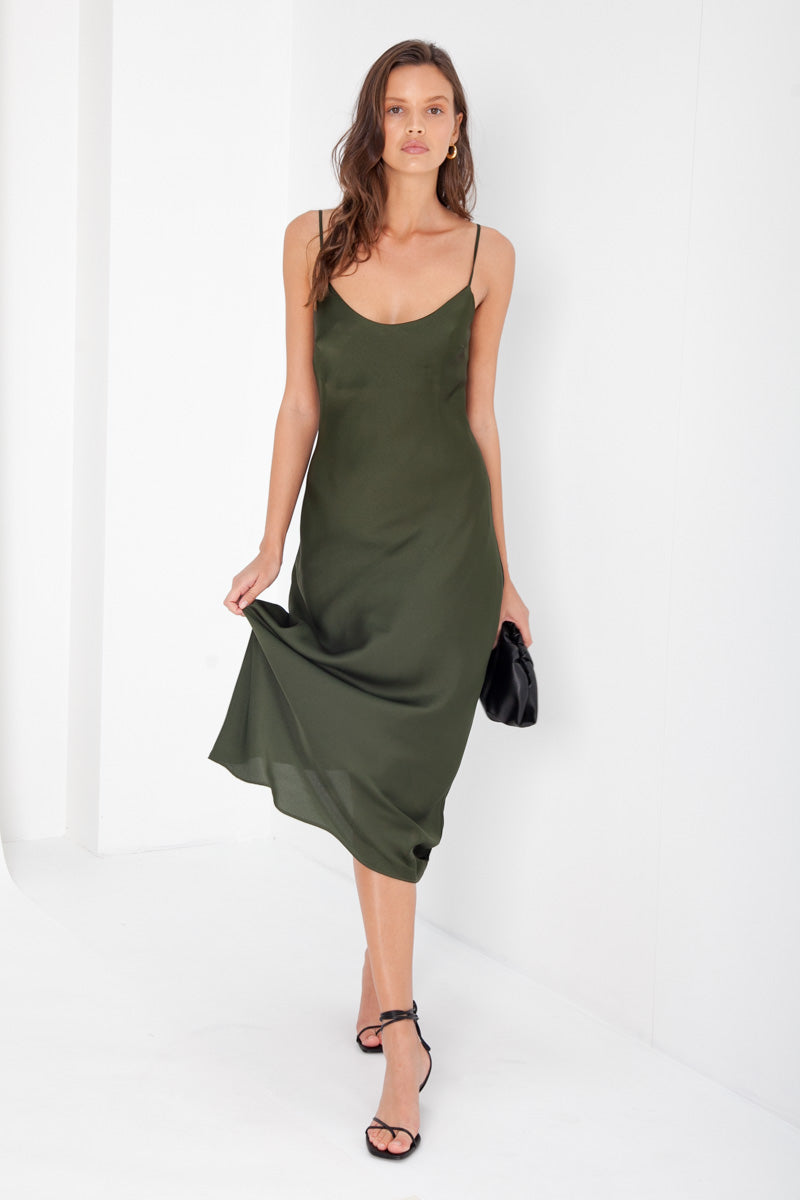 Suki Dress - Khaki