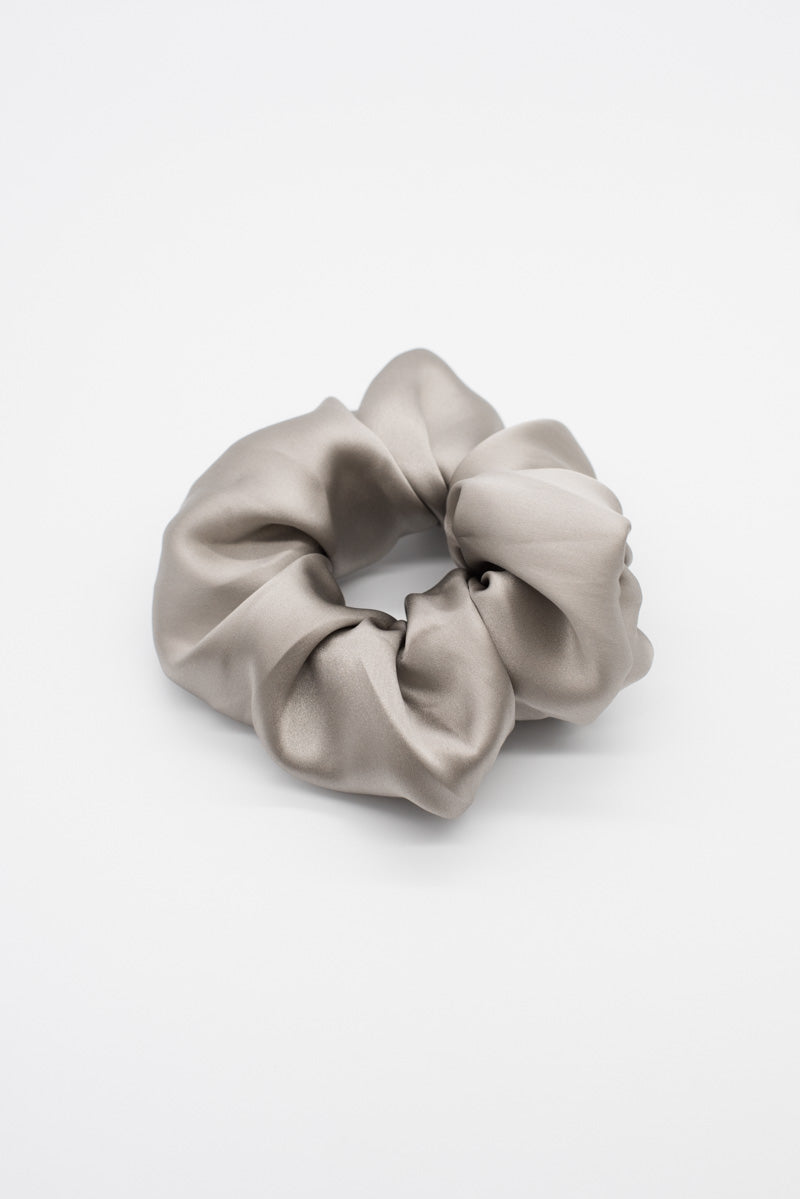 Satin Scrunchie - Khaki