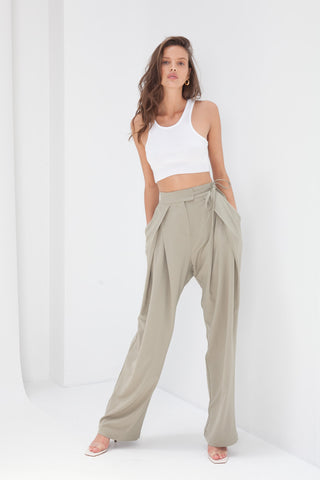 Malene Pants - Tan