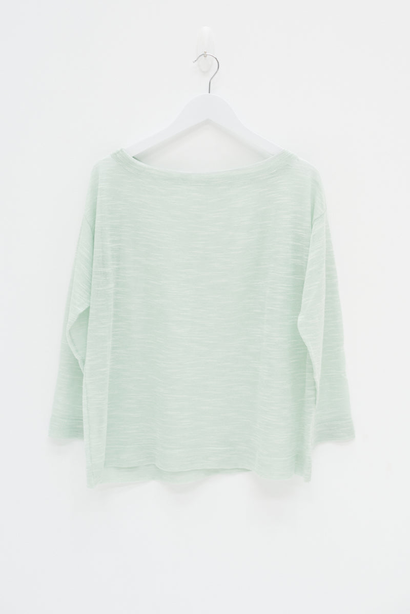 SHEER TOP - MINT / SAMPLE