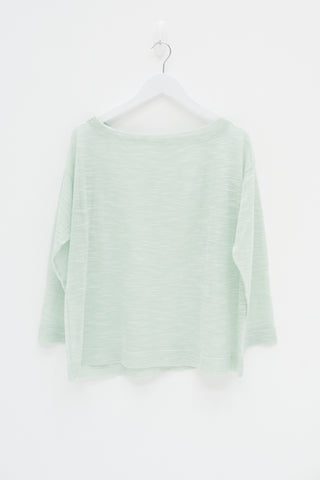 Baby Ribbed Dress - Seafoam / Sample
