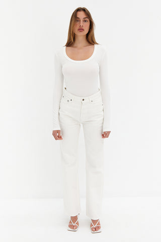 Lou Top - White