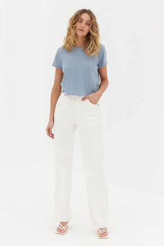 CORE Straight Leg Jeans - White