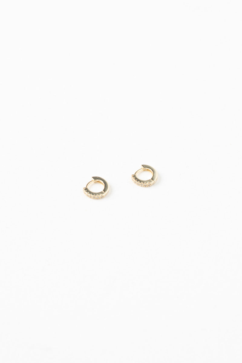 6mm Gold Sleepers - Gold Plated