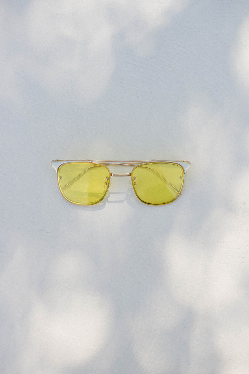 Lapierre Sunglasses - Lemon - Style Addict