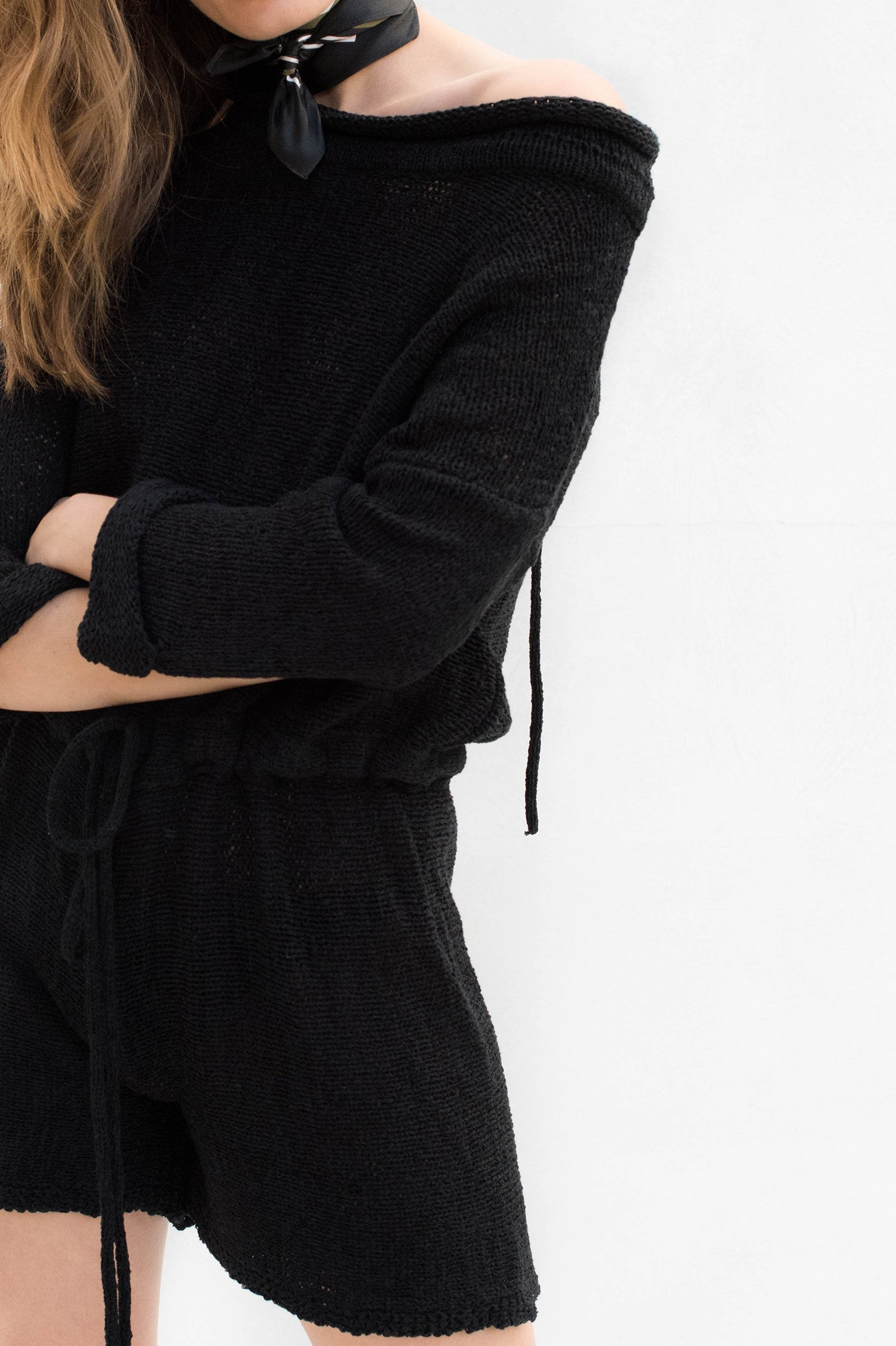 Shipwreck Knit Playsuit - Black - Style Addict