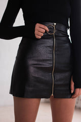Stone Fox Skirt - Black