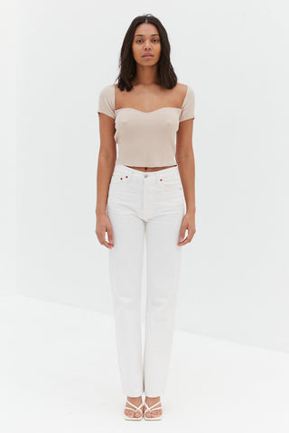 Ella Top - White