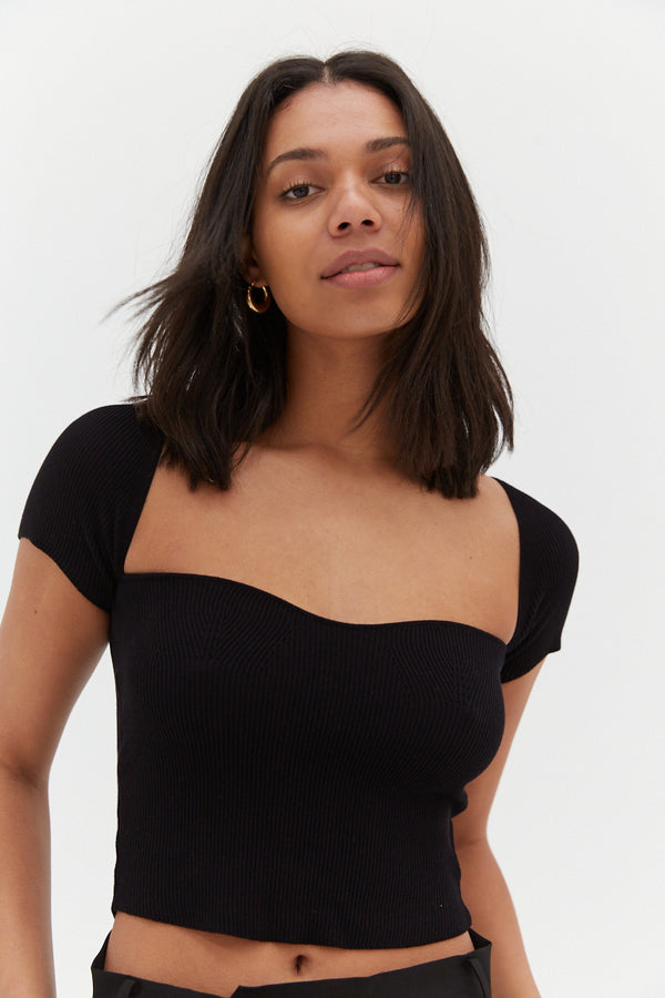 Grace Top - Black