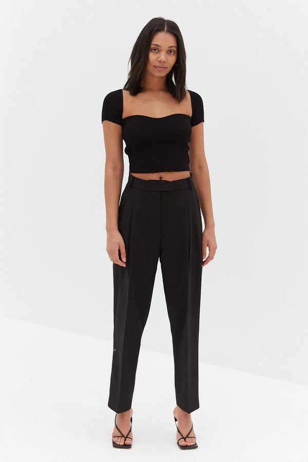 Charlie Trouser Pants - Black