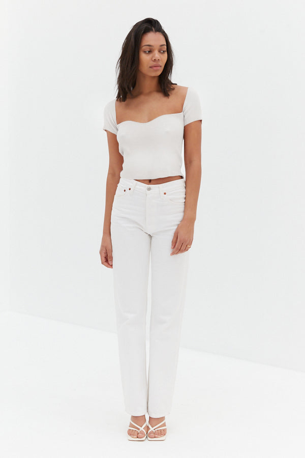 Grace Top - White