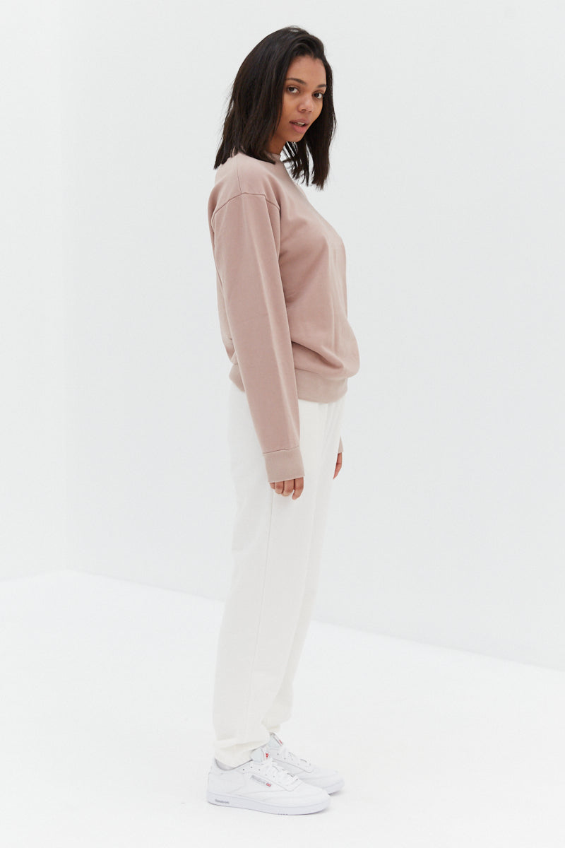Studio Sweatshirt - Powder Pink