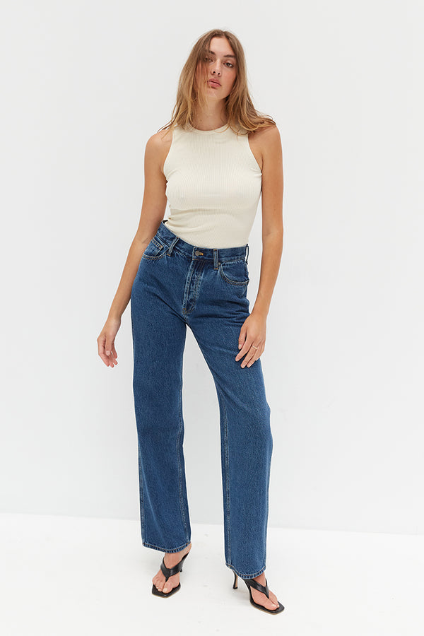 CORE Straight Leg Jeans - Denim