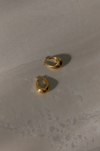 Hammered Ring - Gold Plated