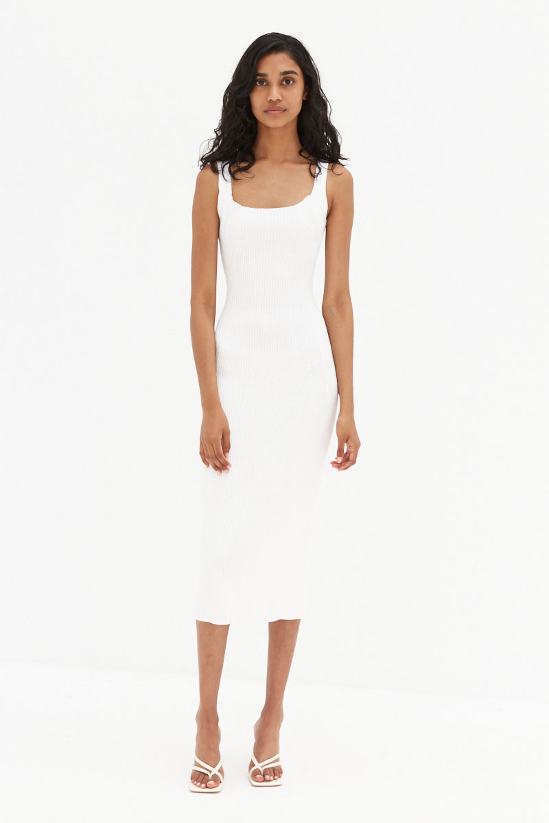Kelsy Dress - White