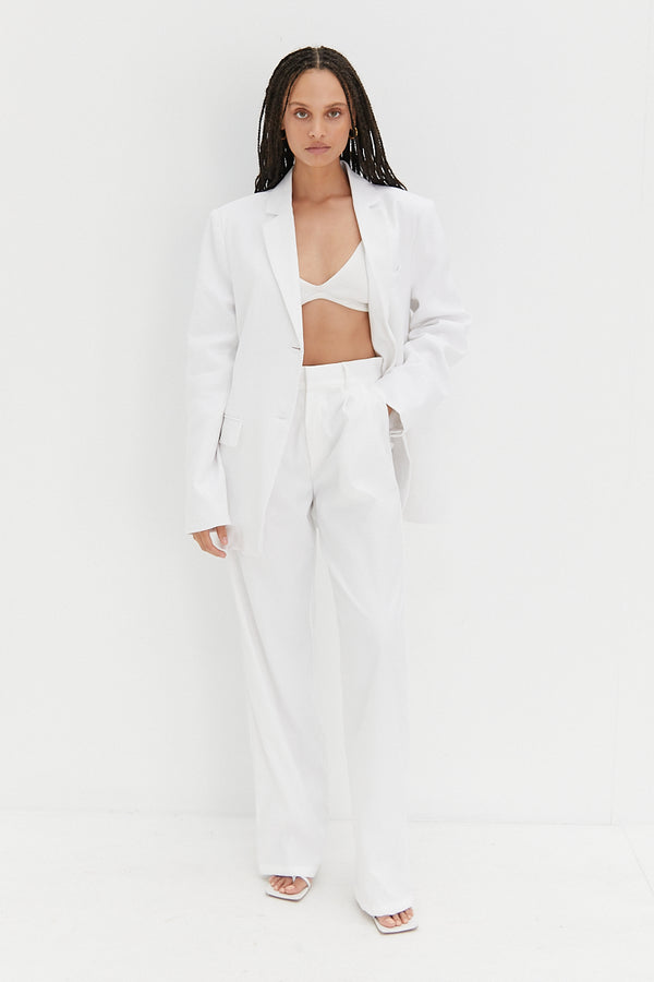 Malene Pants - White