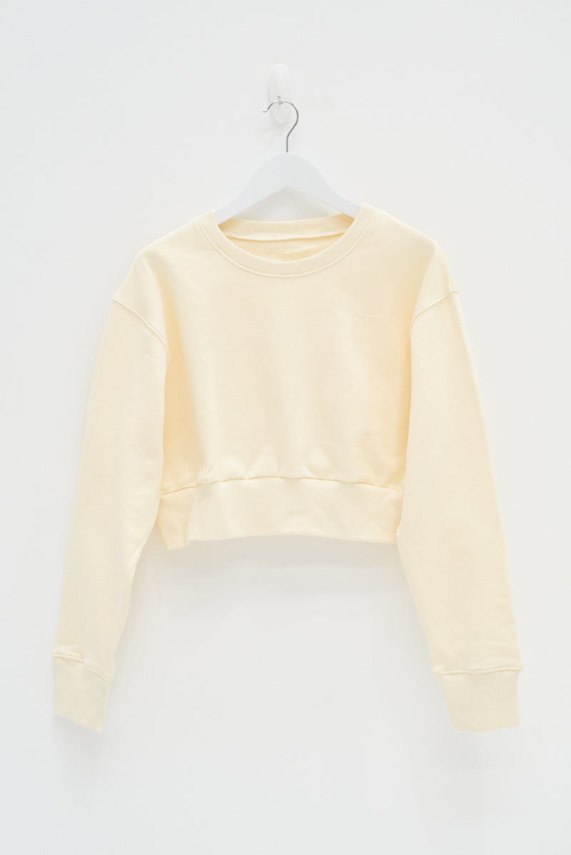 CROP JUMPER - YELLOW / SAMPLE