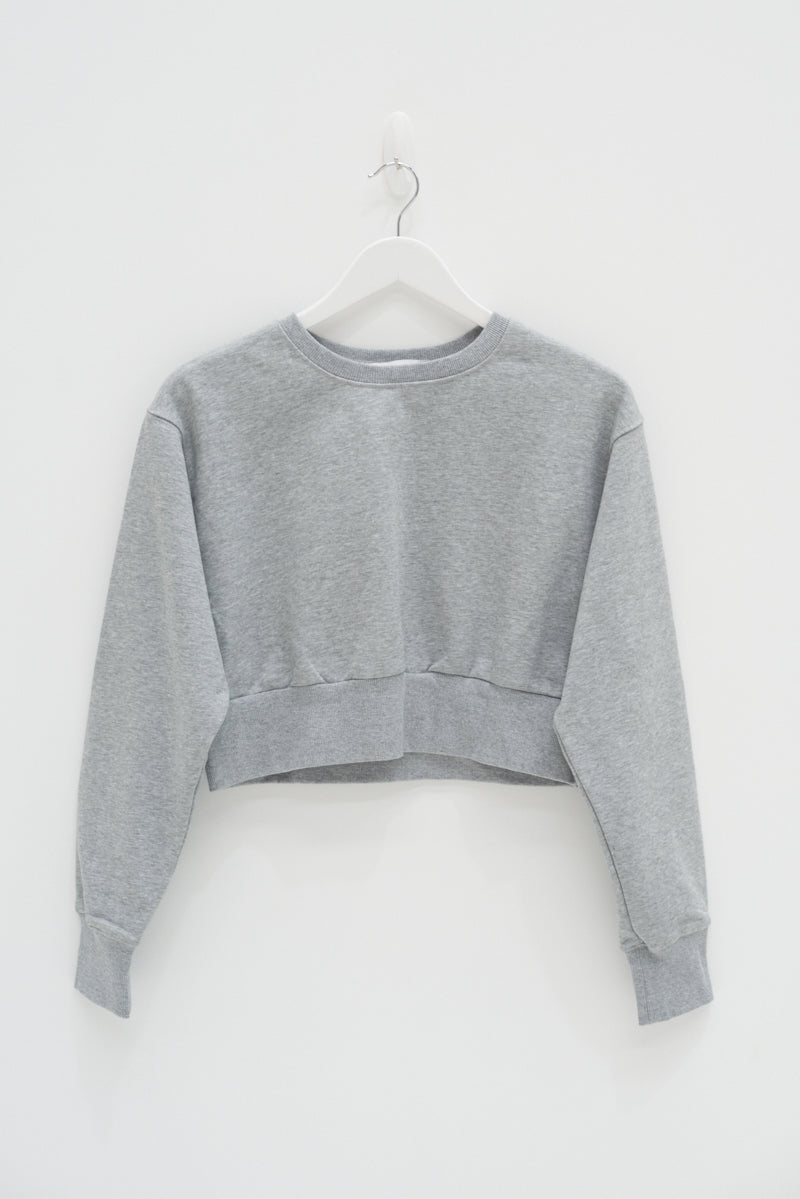 CROP JUMPER - GREY / SAMPLE