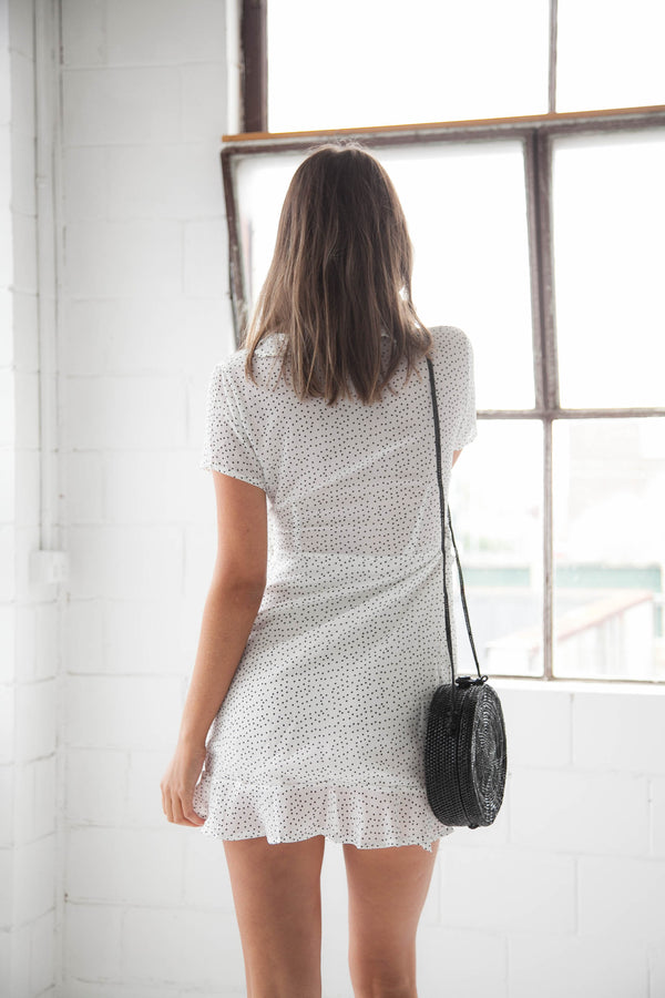 Lucille Dress - White - Style Addict