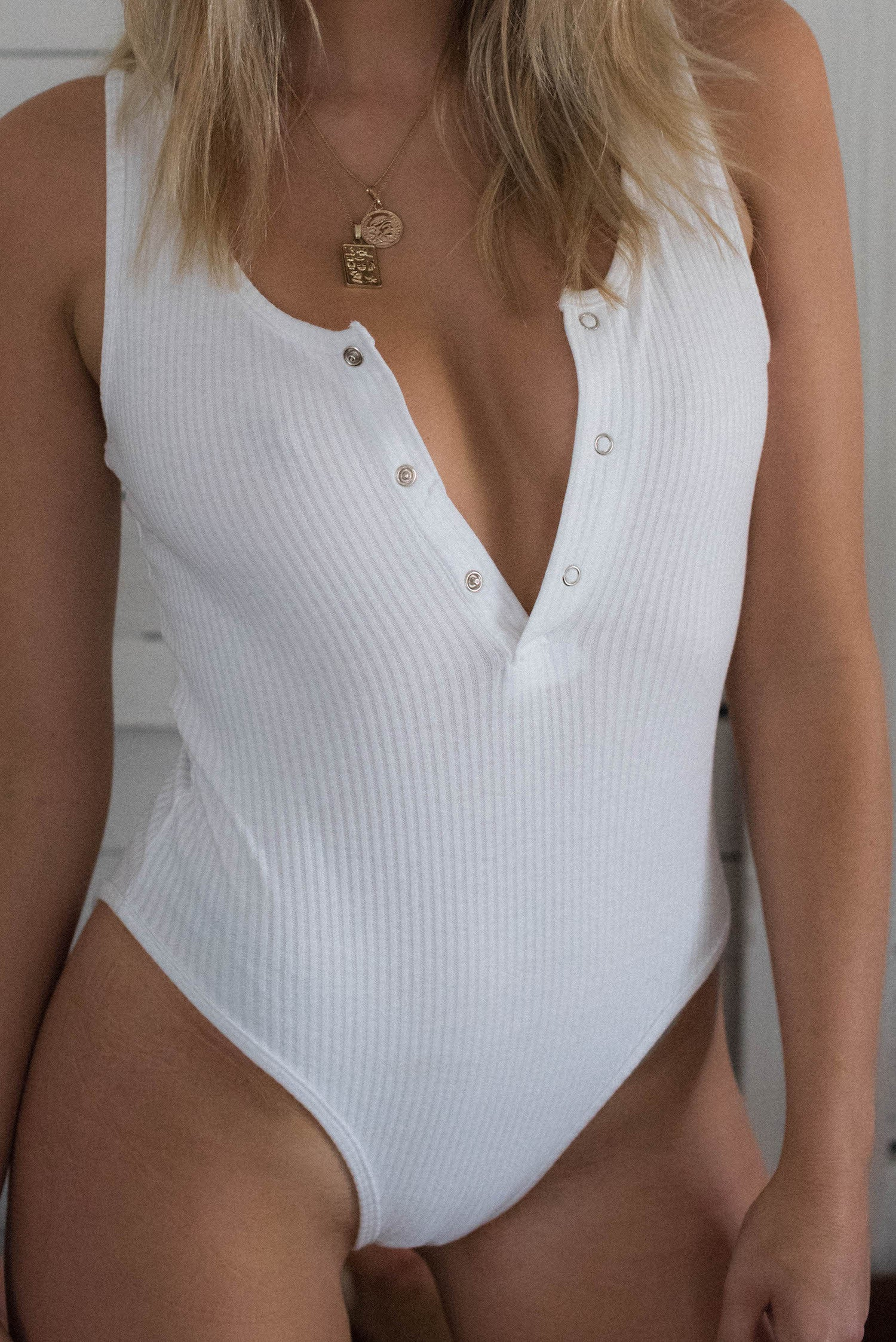 Gloria Bodysuit - White