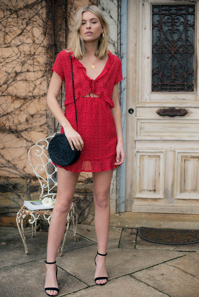 Lucille Dress - Red
