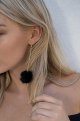 Phi Phi Earrings - Noir