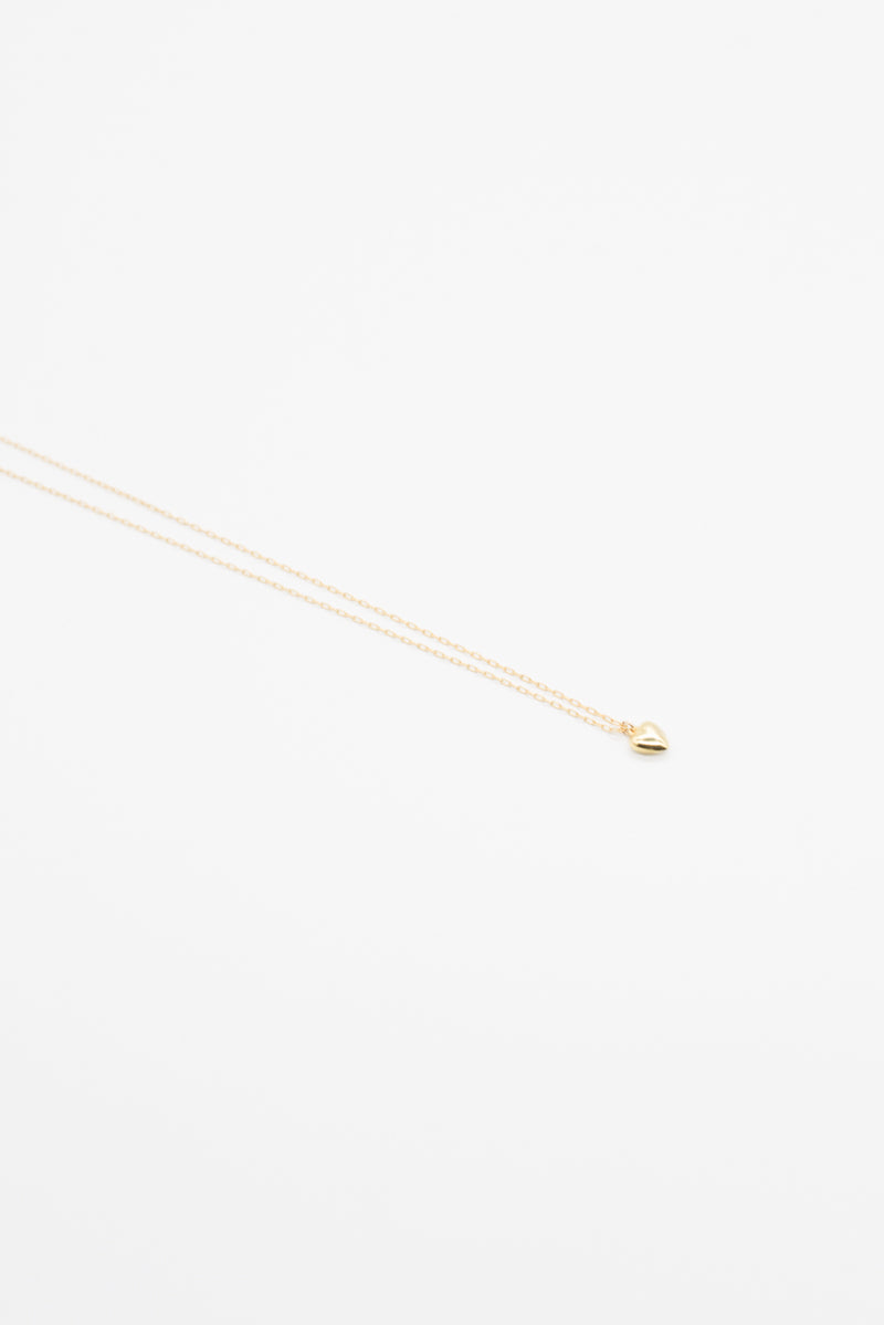 Delicate Heart Necklace - 14K Gold - Style Addict