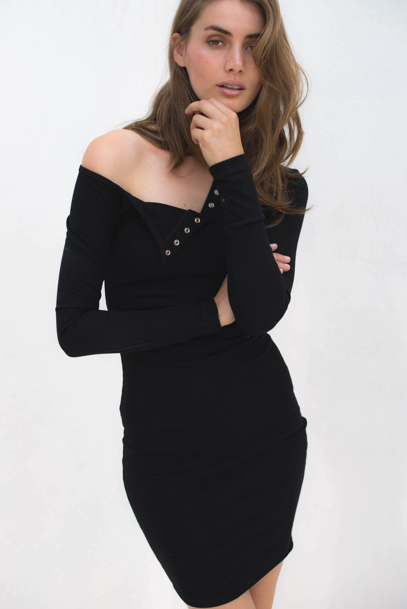 Soraya Dress - Black