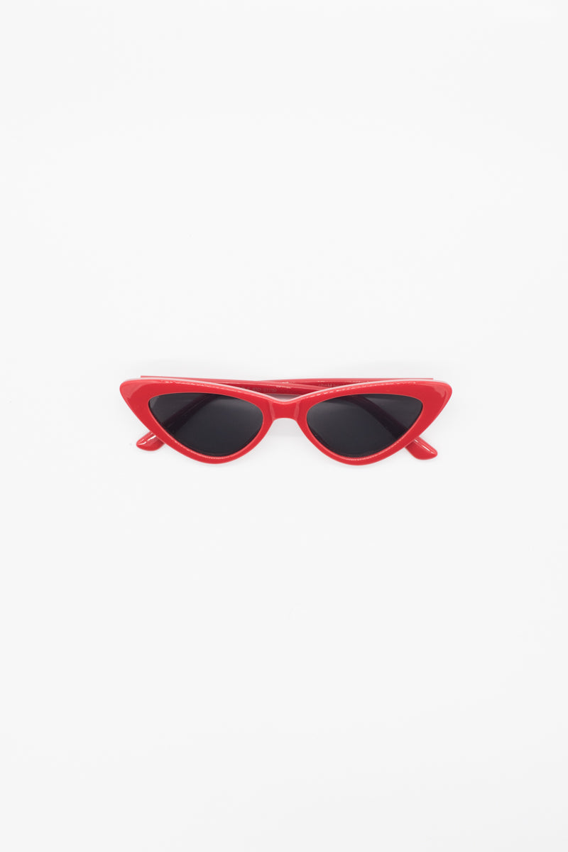 Kat Sunglasses - Red - Style Addict