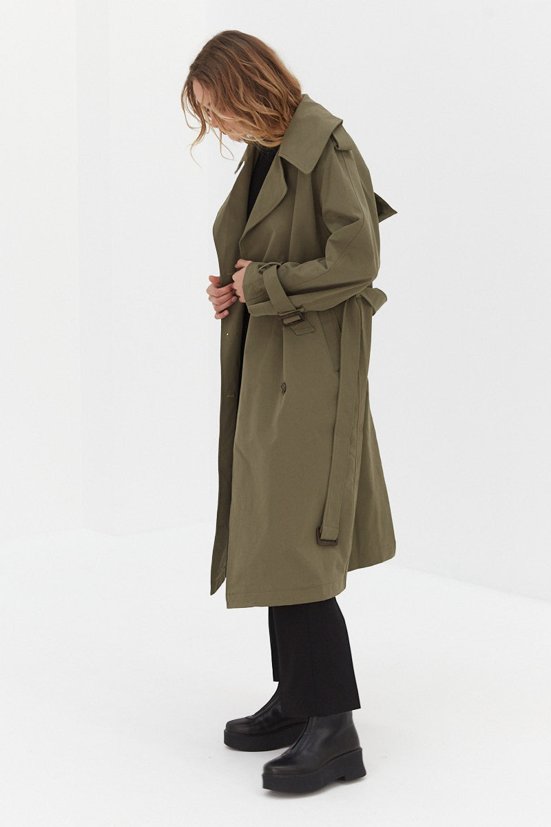 Trench Coat - Khaki