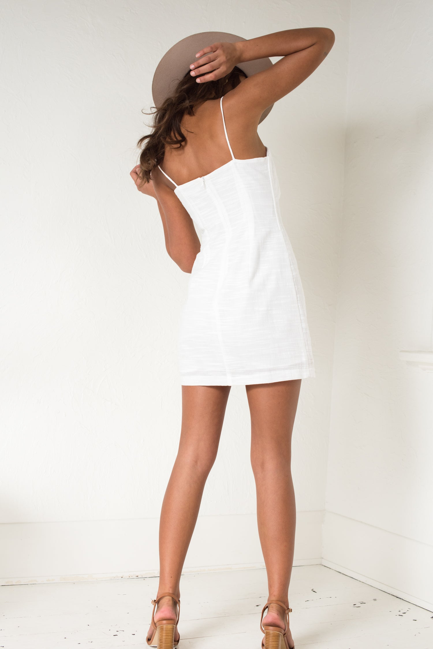 Lucia Dress - White - Style Addict
