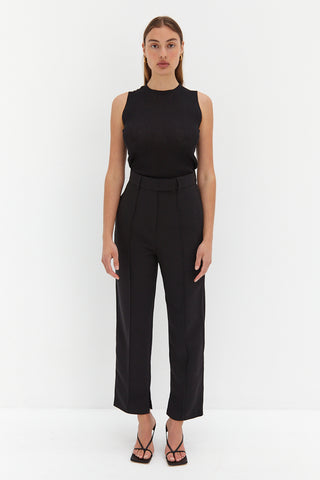 Zoe Trouser Pants - Black
