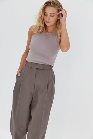 Charlie Trouser Pants - Grey