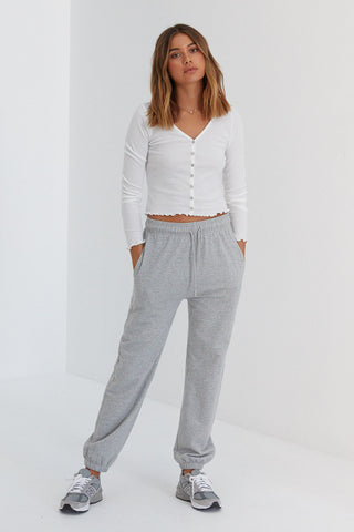 Sojo Sweat Pants - Grey - Pre Order