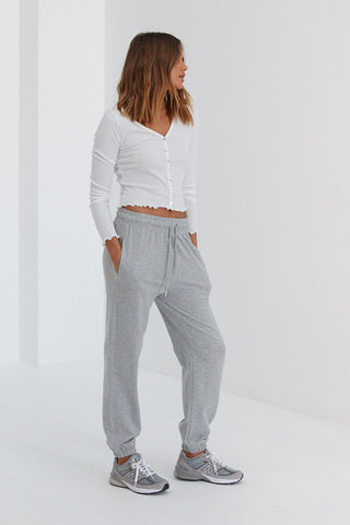 Wool Malene Pants - Grey