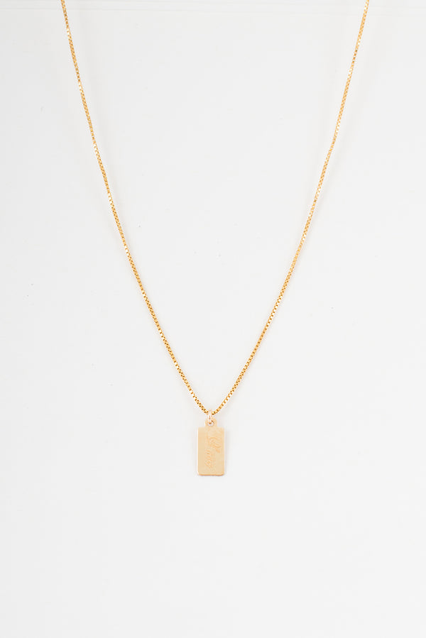 Love Tag Necklace - 14K GOLD - Style Addict