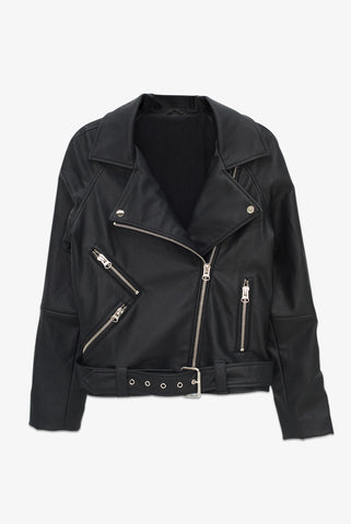 Jacques Blazer - Faux Leather
