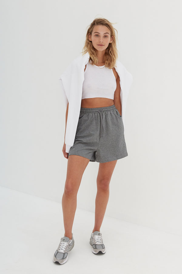 Runner Shorts - Grey