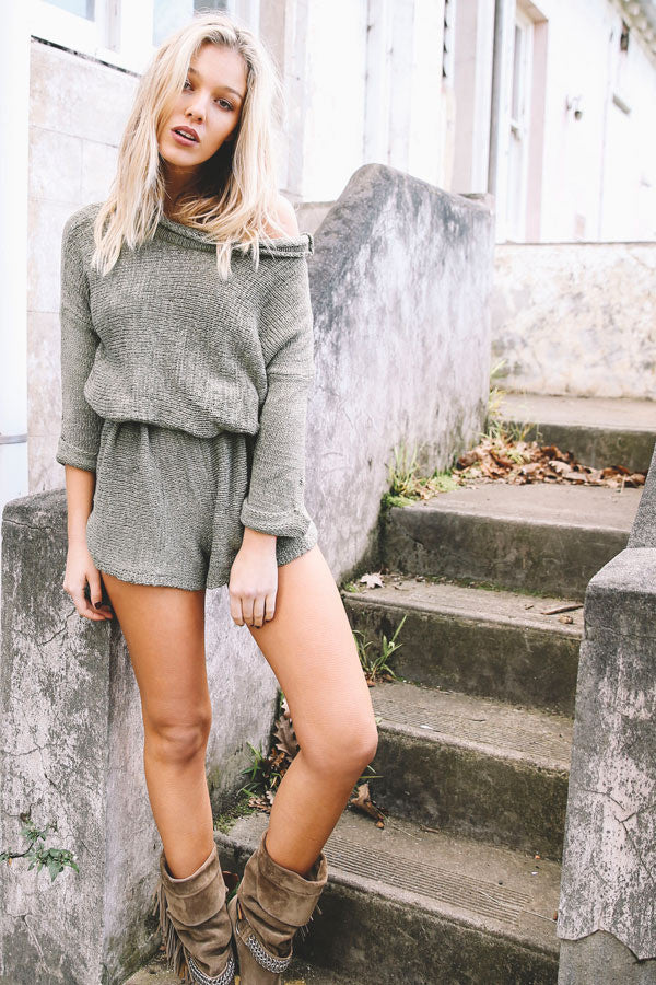 Shipwreck Knit Playsuit