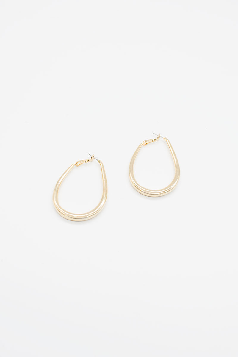 Melody Hoops - 14K Gold