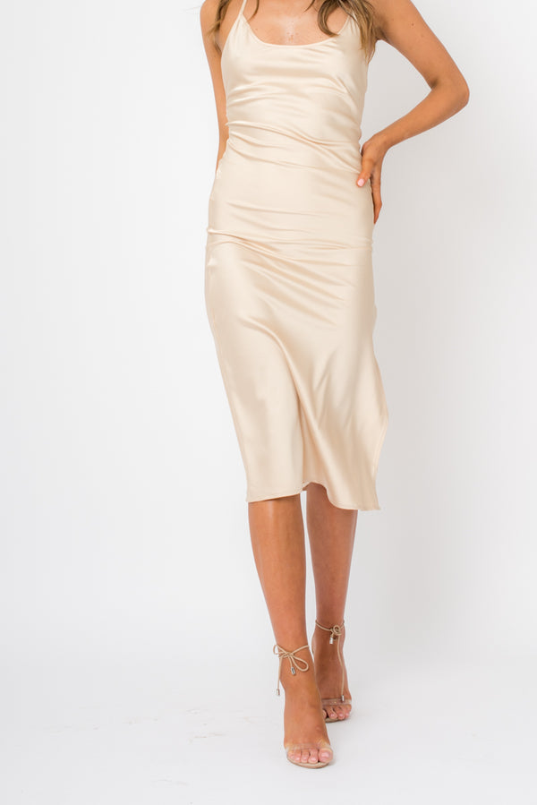 Anu Dress - Gold