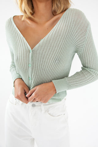 Long Sleeve Bodysuit - Nude