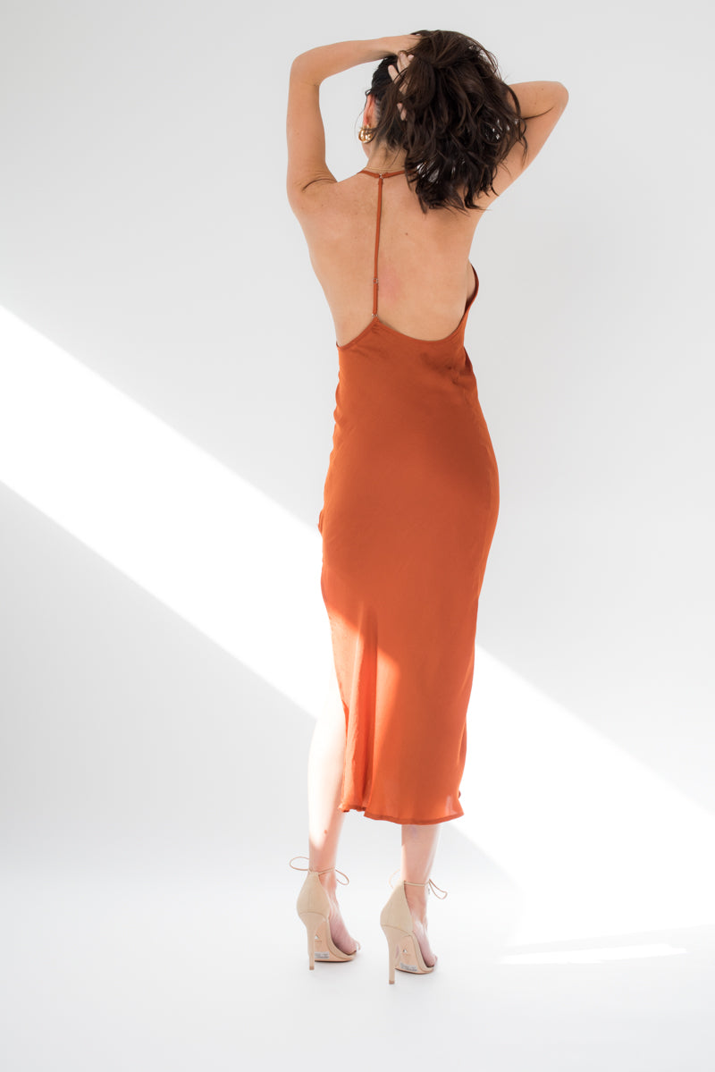 Anu Dress - Orange