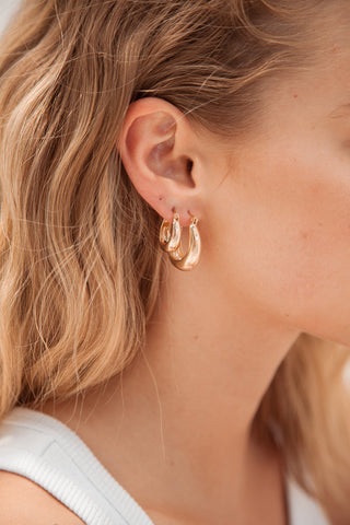 Abel Earrings - Gold