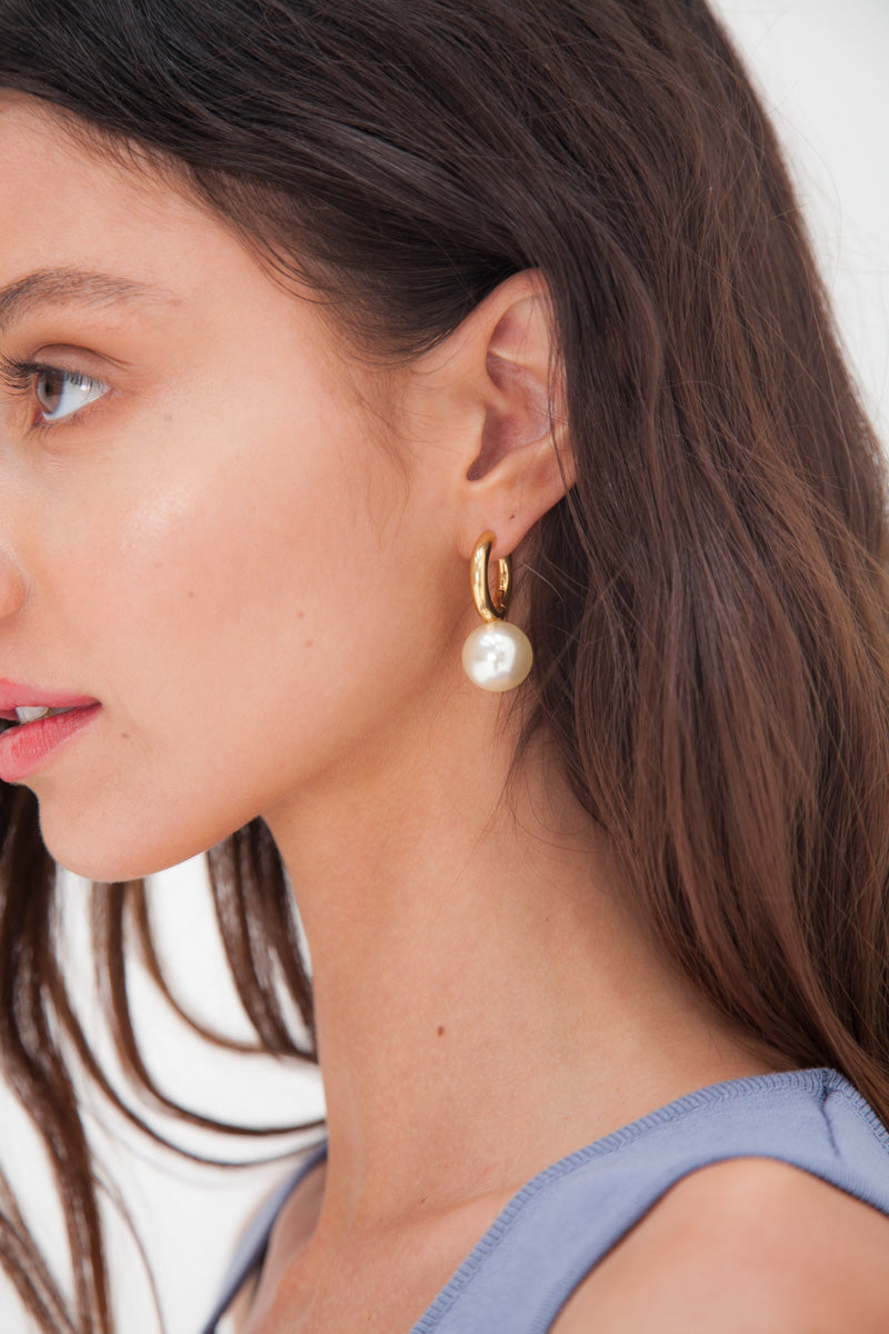 Soya Earrings - Gold Plated