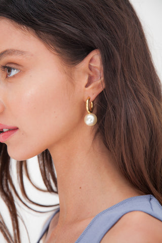 Agulhas Earrings - Gold Plated
