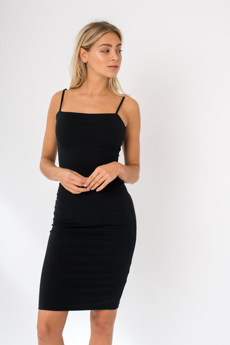 Tube Dress - Black