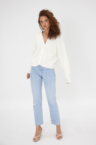Flynn Top - White