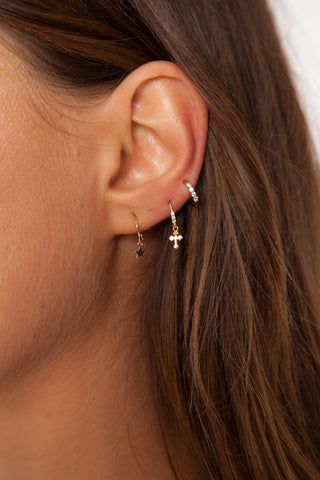 Diana Earrings - Silver