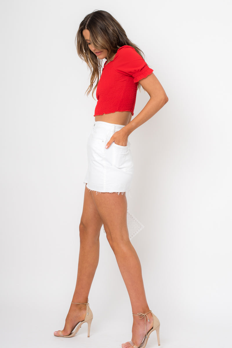 Cuba Top - Red / OUTLET